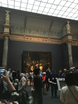 Rembrandt's Nightwatch at the Rijksmuseum