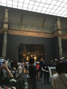 Rembrandt's Nightwatch at the Rijksmuseum