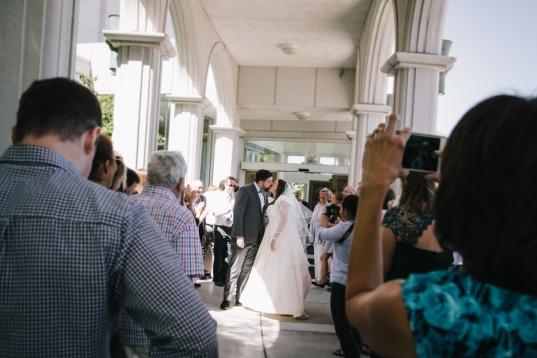 Bountiful Temple Wedding